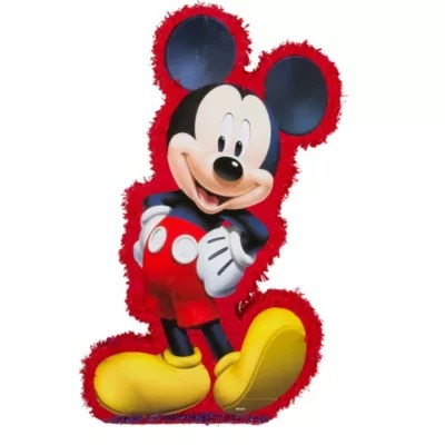 Red Mickey Mouse Pinata 37 14in X 21in X 4 34in Party City