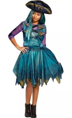 Girls Uma Costume Disneys Descendants 2 Party City