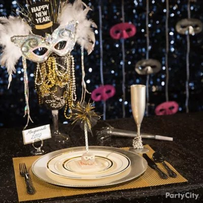 New Year's Eve Masquerade Party Ideas - Party City | Party ...