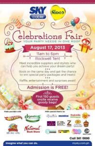 Celebrations Fair 2013