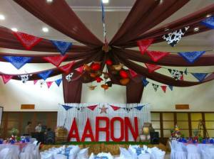 Aaron's Cowboy Themed Party – 1st Birthday
