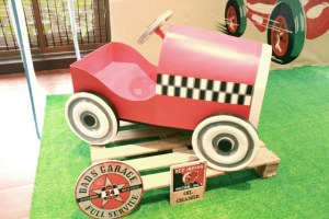 Francesco's Vintage Race Car Themed Birthday – 2nd Birthday