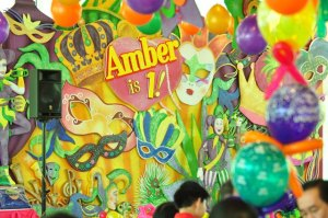 Amber Soleil's Mardi Gras Inspired Party – 1st Birthday