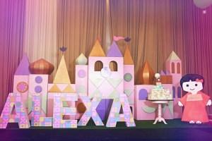 Alexa's It's a Small World Themed party – 1st Birthday