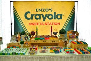 Enzo's Crayon Themed Party – 1st Birthday