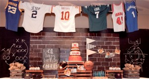 Caleb's Vintage All-Star Sports Themed Party – 1st Birthday