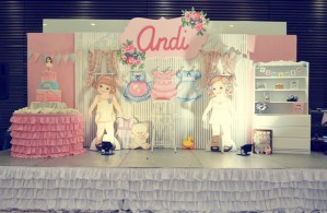 Andi's Vintage Paper Doll Themed Party – 1st Birthday