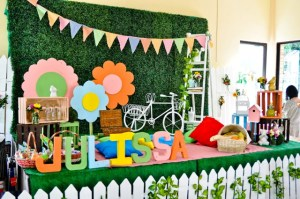 Julissa's Spring Picnic Themed Party – 1st Birthday