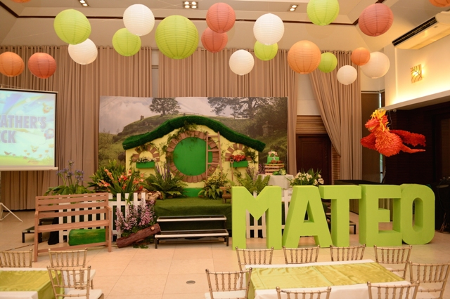 Mateos The Hobbit Themed Party 1st Birthday Party