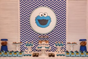 Kiemon's Milk & Cookie Monster Pajama Party – 1st Birthday