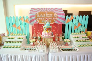 Kassie's Hello Kitty Carnival Themed Party – 1st Birthday