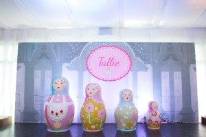 Tallie's Pink Russian Themed Party – 1st Birthday