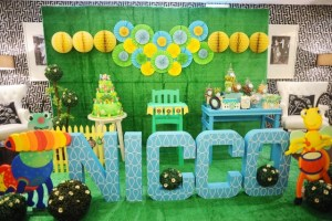 Nicco's Big Bugs Band Themed Party – 1st Birthday