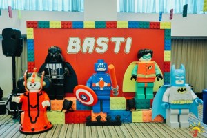 Basti's LEGO® Themed Party – 1st Birthday