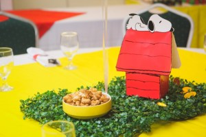Nicholas' Snoopy and The Peanuts Gang Themed Party – 1st Birthday