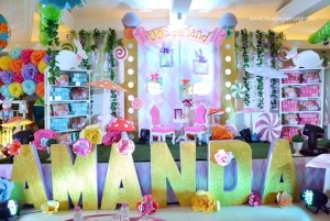 Amanda's Alice in Candy Wonderland Themed Party – 1st Birthday