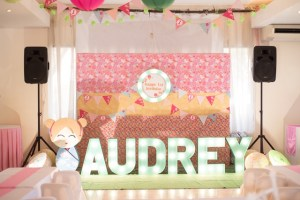 Audrey's Kokeshi Doll Themed Party – 1st Birthday