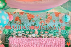 Chloie's Shabby Chic Bunny Themed Party – Baptismal Celebration