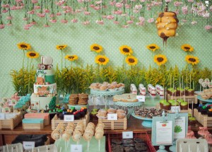Carolina's Farmer's Market Themed Party – 1st Birthday