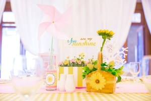 """Lia's """"You are My Sunshine"""" Themed Party – 1st Birthday"""