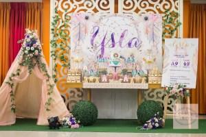 Ysla's Boho Chic Themed Party – Dessert Spread