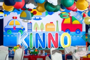 Kinno's Transportation Themed Party – 1st Birthday