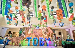 Toby's Jurassic World Themed Party – 7th Birthday