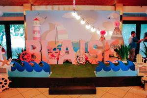 Blaise's Pink Nautical Themed Party – 1st Birthday