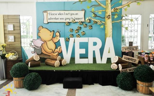 Vera's Winnie the Pooh Themed Party – 1st Birthday