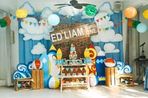 Liam's Little Surfer Themed Party – 1st Birthday