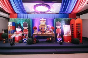 Eli's Royal London Themed Party – 1st Birthday