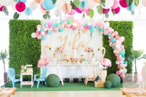 Ysla's Tropical Themed Party -1st Birthday
