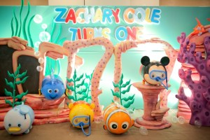 Zachary's Under The Sea Tsum Tsum Themed Party – 1st Birthday