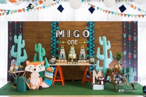Migo's Tribal Woodland Themed Party – 1st Birthday