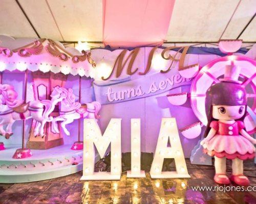 Mia's Dainty Carnival Themed Party -7th Birthday