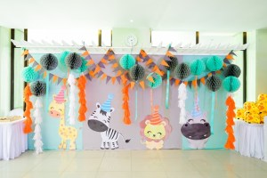 Nathan's Party Animals Themed Party – 1st Birthday