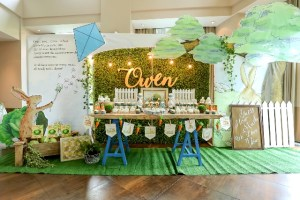 """Owen's """"Guess How Much I Love You"""" Themed Party – Baptismal Celebration"""
