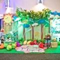 picnic theme party photowall