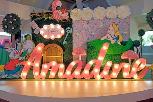 Addie's Alice in Wonderland Themed Party – 1st Birthday