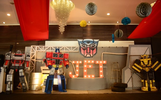 Jet's Transformers Themed Party – 7th Birthday
