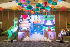 Luca Toy Story Themed Party – 1st Birthday