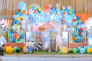 Marcus' Party at the Zoo Themed Party – 1st Birthday