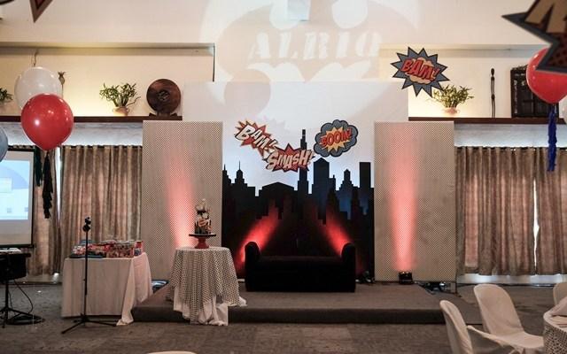 Alriq's Superheroes Themed Party – 1st Birthday