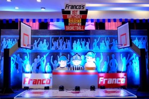 Franco's Basketball Themed Party – 1st Birthday