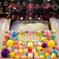 jewels and gems theme party stage