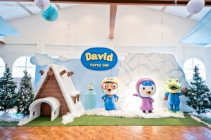 David's Pororo and Friends Themed Party – 1st Birthday
