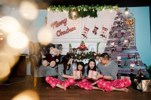 The Night Before Christmas Theme Editorial Shoot