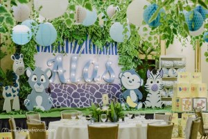 Alas' Baby Safari Themed Welcoming Party