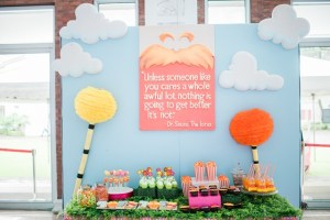 Kodi and Alex's The Lorax Themed Party – 7th Birthday and Baptismal Celebration