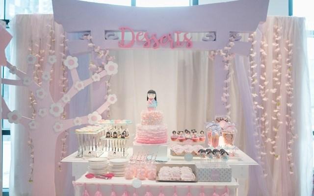 Akemi's Charming Kokeshi Doll Themed Party – 7th Birthday